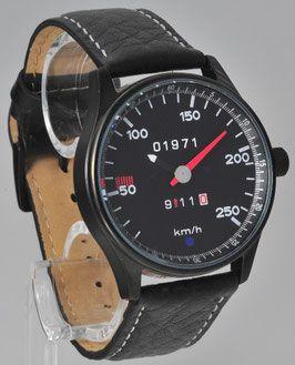 F-Modell von 1963-´73 - Tachometer Armbanduhren von 9vor11 Porsche Uhren