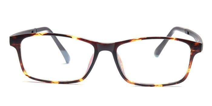 d59e6ebb3a Graviate E18C4969 Tortoise Full Frame Rectangle Eyeglasses for Men and Women