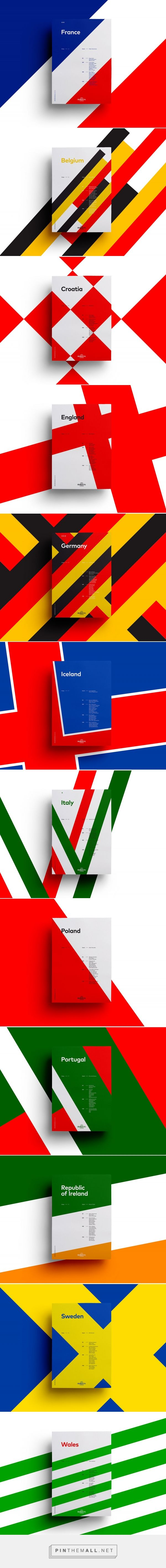 UEFA EURO 2016 Poster Series by Sean Ford | Inspiration Grid | Design Inspiration - created via https://pinthemall.net