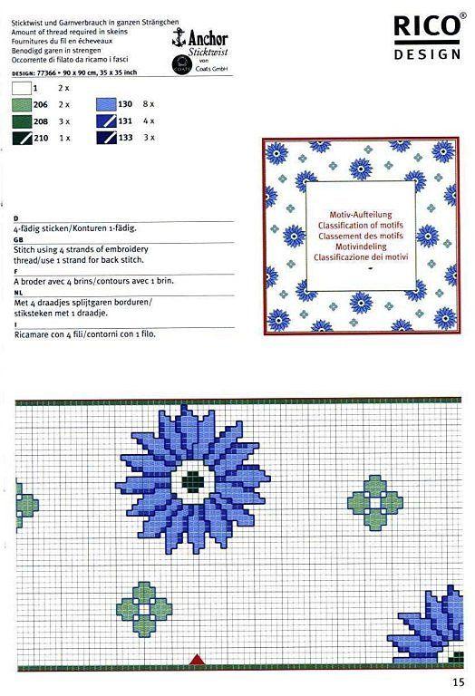 Solo Patrones Punto Cruz (pág. 207)   Aprender manualidades es facilisimo.com