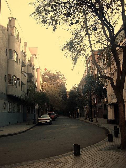 Lastarria. Santiago de Chile.