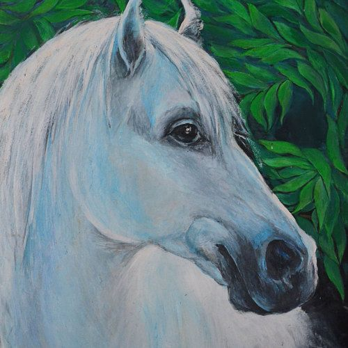 Christmas acrylic painting art and collecting by siberianpaint