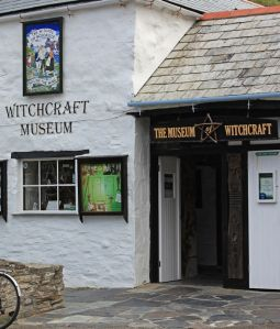 Witches of Boscastle, the Witchcraft Museum, Boscastle, Cornwall, England.  B…