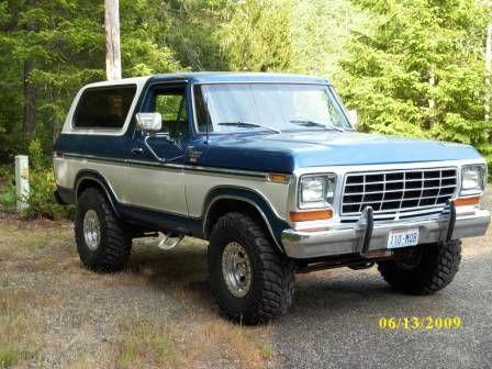 1978 Ford Bronco For Sale belfair, Washington