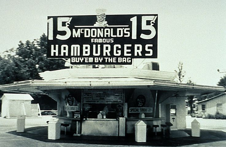 Today 4-15 in 1955, Ray Kroc opened the first McDonald's -- in Des Plaines, IL -- do you remember when your town got it's first McDonald's? I sure do!: Remember, Ideas, Mcdonald'S Originals, Mcdonald'S Brother, Mcdonald'S Restaurant, Mac Mcdonald'S, Mcdonald'S Corporate