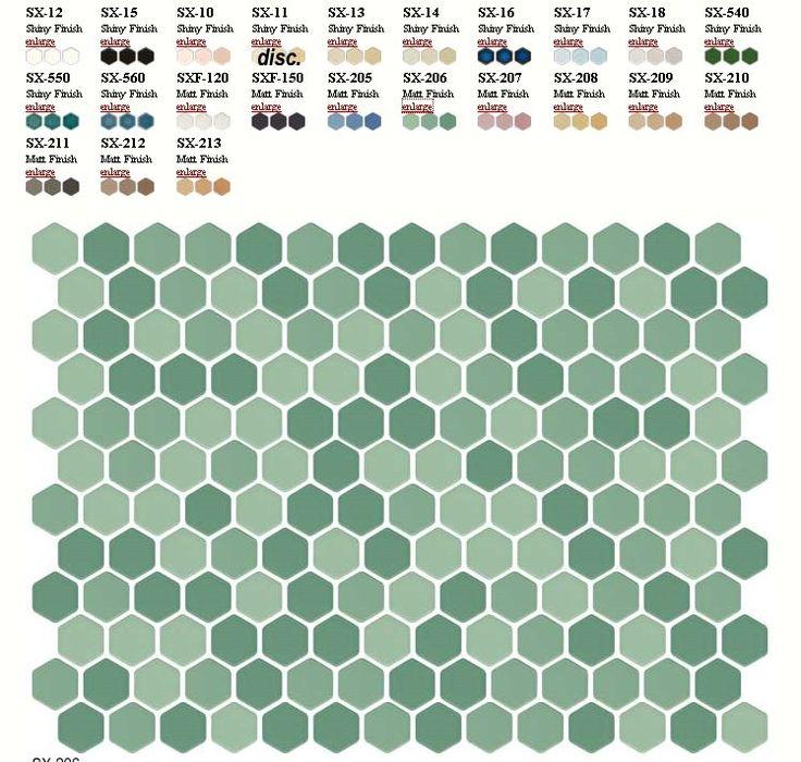 Bathroom Tile Color Schemes: 1000+ Images About Green 1950's Bathrooms On Pinterest