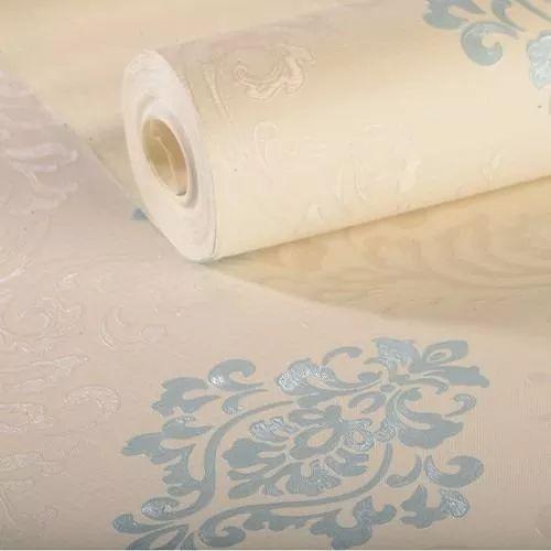 papel de parede importado vinílico lavável texturizado k475