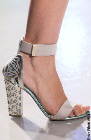 London Fashion Week SS14 Runway Shoes