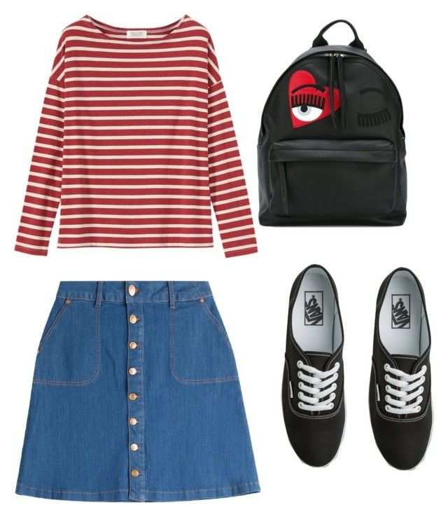 """""""Untitled #63"""" by fhk21 on Polyvore featuring Toast, HUGO, Vans and Chiara Ferragni"""