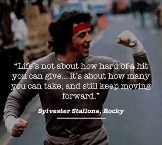 Inspirational Movie Quotes: 105 Best Images About Rocky Balboa On Pinterest