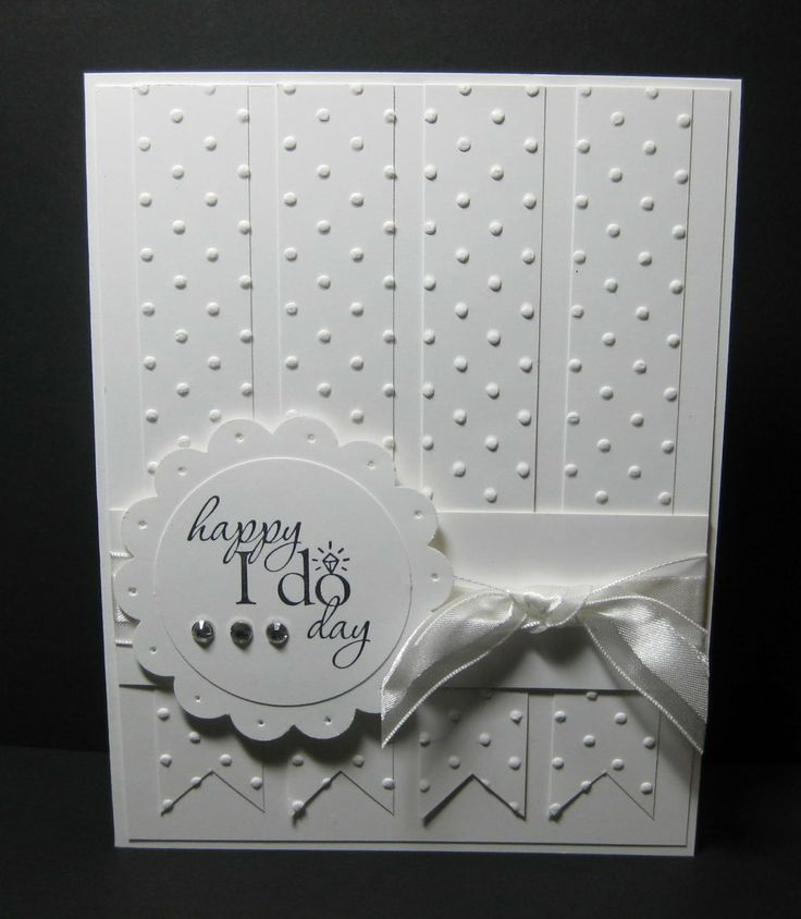 Card Making Ideas Wedding Part - 21: Stampin Up Wedding Cards | Found A Really Great Card On Pinterest .