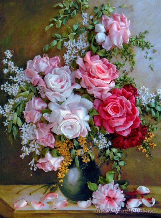 Gallery.ru / Розы с мелкими цветочками - Любимые розы - silkfantasy