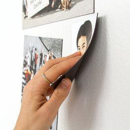 Imanes potentes para paredes con pintura magnética - supermagnete