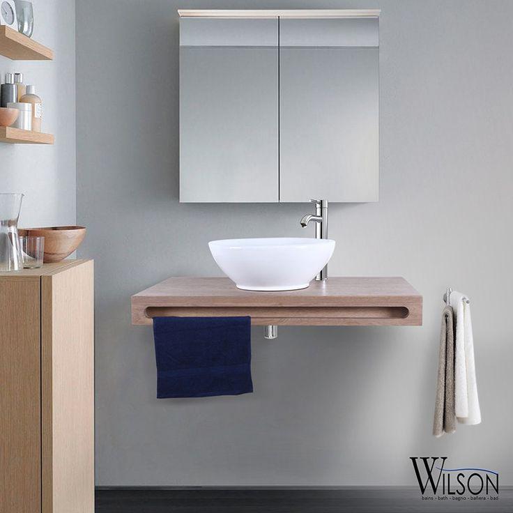 10 best Plans suspendus Salle de bains - Wilson images on Pinterest - Meuble De Salle De Bain Sans Vasque