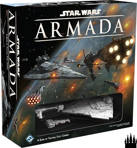 In Star Wars: Armada, you command the unmatched power of the Imperial fleet, or gain the opportunity to prove your tactical acumen as an admiral in the Rebel Alliance.
