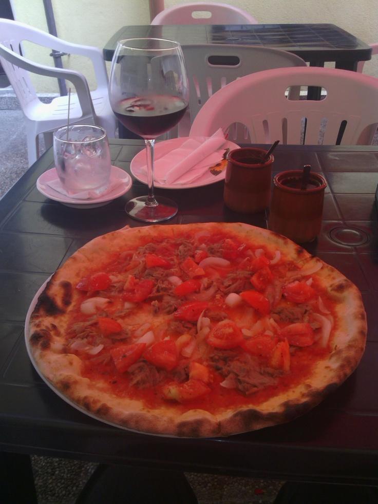 Pizza at Primo Amore run by Renato - best pizza in Bratislava