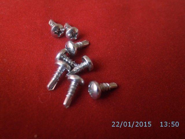 Wkrety TEX Pchelki 3,5 x 9,5 powloka Niklowa