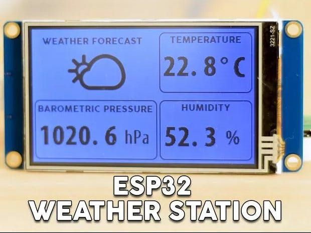 ESP32 WiFi Weather Station With a BME280 Sensor | ESP8266 ekkor: 2019