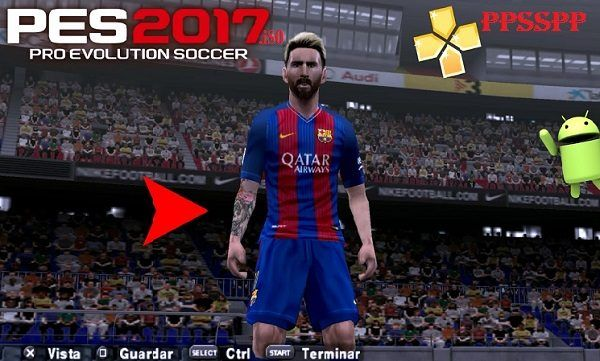 PES 2017 iSO Pro Evolution Soccer V2 PPSSPP Android Download | Free