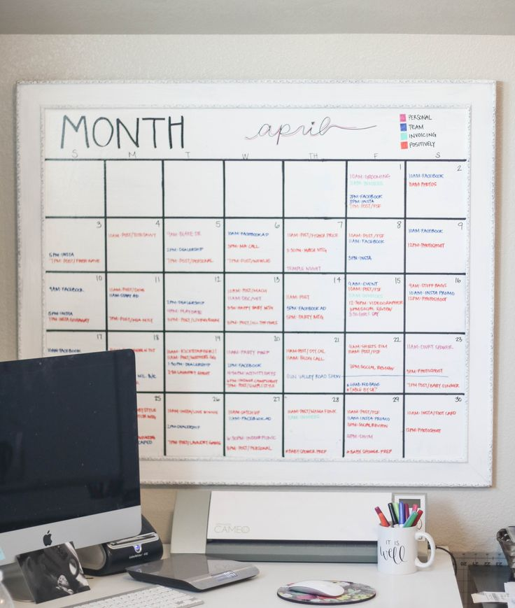 Whiteboard Calendar Ideas : Best diy whiteboard ideas on pinterest dry erase