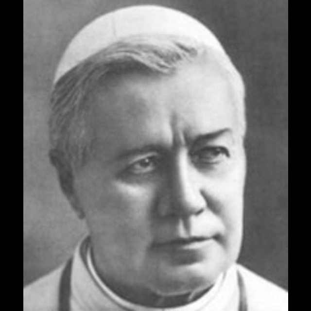 Saint Pope Pius X   (2 June 1835 – 20 August 1914), born Giuseppe Melchiorre Sarto, was the 257th Pope of the Catholic Church, serving from 1903 to 1914.