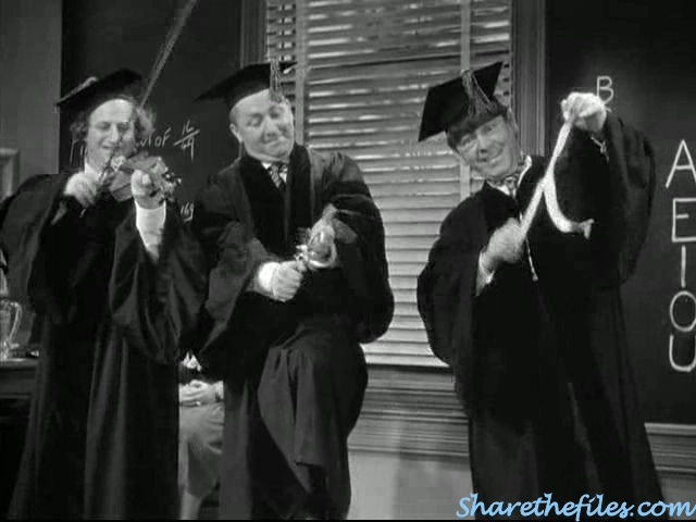 Swinging the alphabet the three stooges
