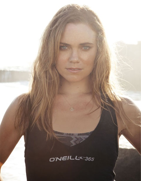 Beach Workout. Natalie Coughlin, Olympic Swimmer. O'Neill 365.