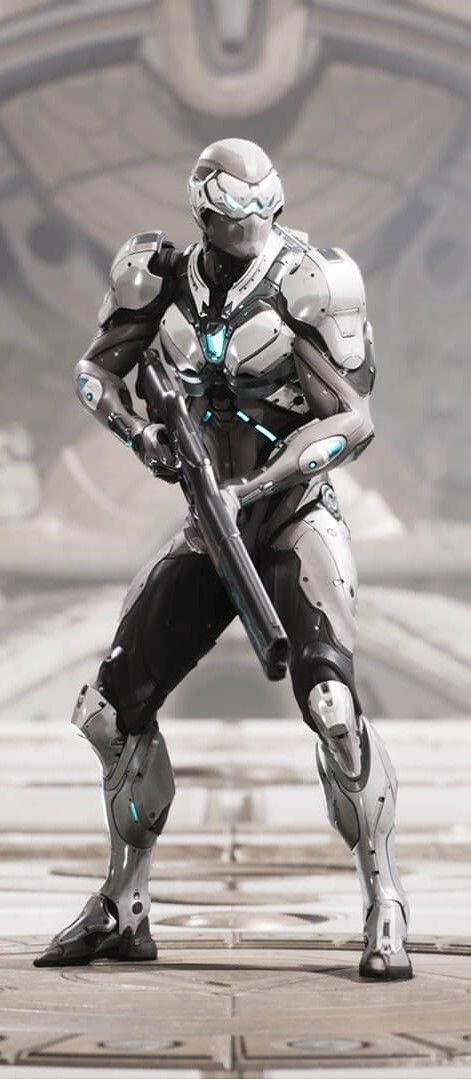 Wraith. Hero from Paragon, great MOBA by Epic Games.