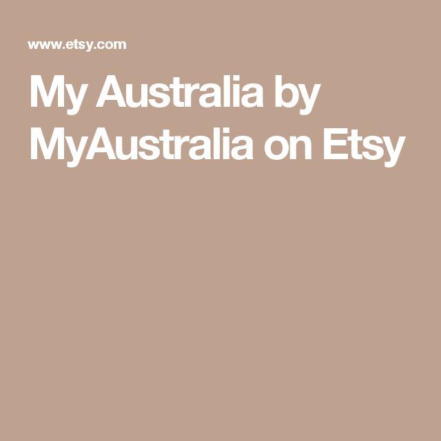 My Australia by MyAustralia on Etsy