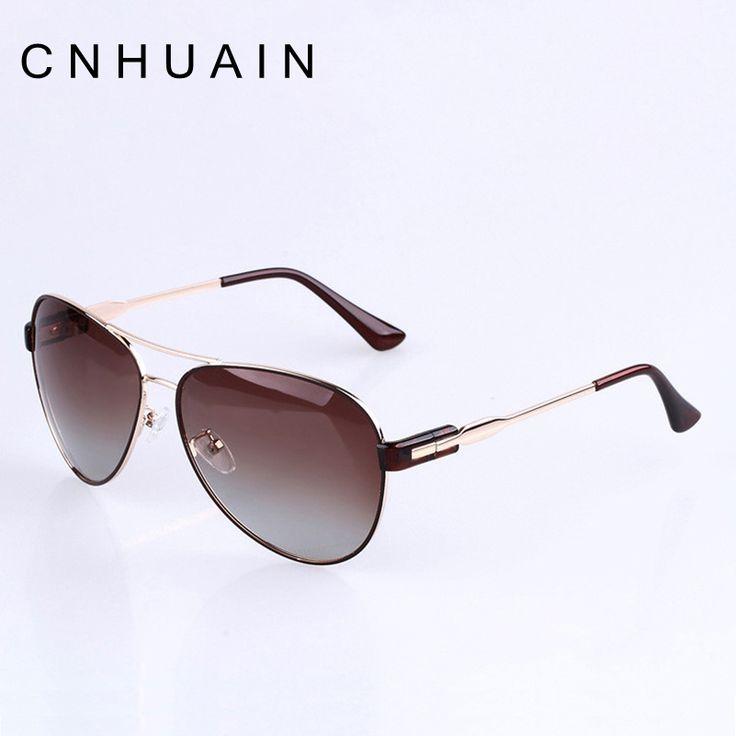 очки авиаторы Известный бренд поляризованных солнцезащитных очков Женщины мода роскошные дизайнер очки металлический каркас 100% высокое качество Горячая продажа