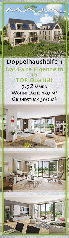 Neubau, Haustyp: Doppelhaushälfte Etagenanzahl: 3 Nutzfläche Ca. 39 M²  Bezugsfrei Ab 2017