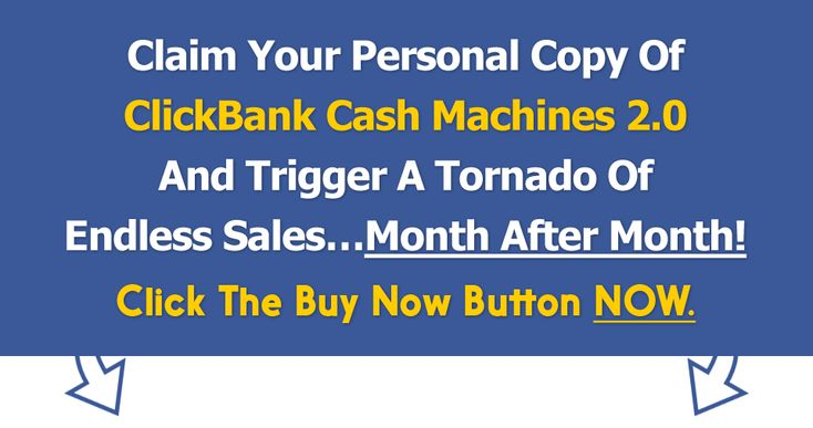 Clickbank Cash Machines 2.0