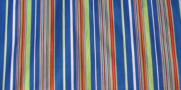 stripe fabric royal blue white stripes