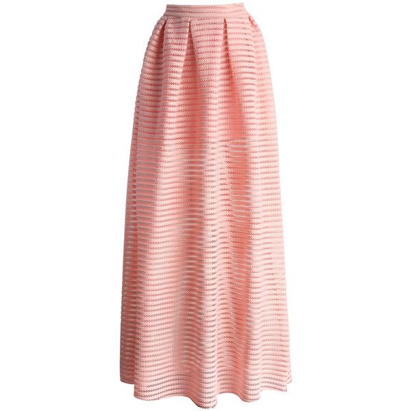 Your worries about finding the perfect maxi skirt this spring are officially over because we've got you covered with our glam stripes cutout maxi skirt in a co…
