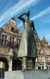 Marieke van Nijmegen near Marktzicht