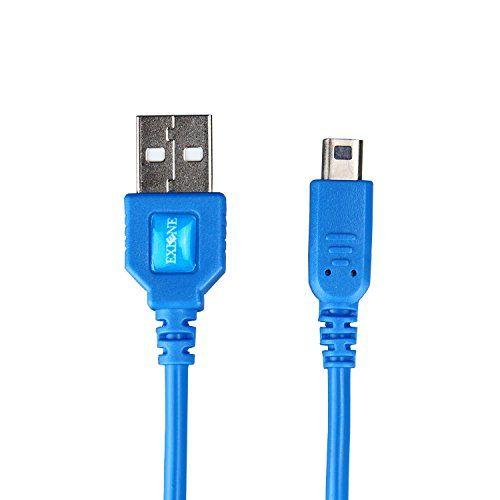 Exlene® Nintendo 3DS USB Câble d'alimentation Chargeur Jouer pendant la charge pour Nintendo 3DS, 3DS XL, 2DS, DSi, DSi XL -4ft / 1.2m…