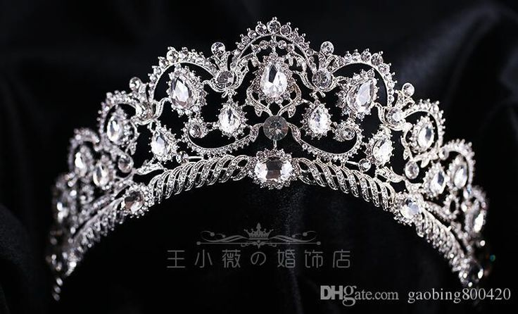 2016 European Vintage Tiaras Silver Bridal Jewelry Quinceanera Rhinestone Crystal Crowns Pageant Wedding Hair Accessories For Brides From Gaobing800420, $28.15 | Dhgate.Com