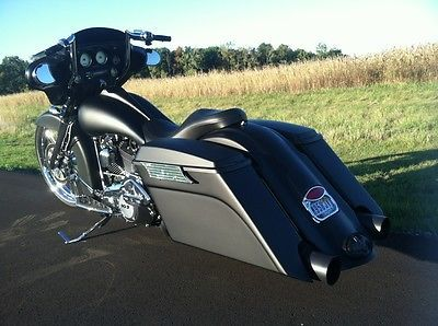 "Hatred Customs Bagger | Custom Bagger** 2011 Street Glide FLHX~103~26"" Front Wheel~Custom ..."