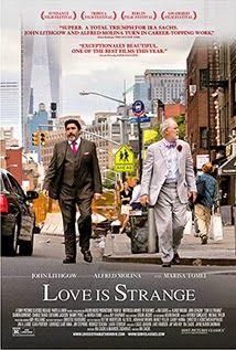 "love_is_strange_movie_image.jpg Το ""Love is strange"" μας υπενθυμίζει τα πολλά βήματα που έχουν γίνει στο κομμάτι της κοινωνικής προόδου και των κοινωνικών προκαταλήψεων, ωστόσο επισημαίνει το πόσο μακριά πρέπει να προχωρήσουμε ακόμα για να φτάσουμε στο επιθυμητό επίπεδο κοινωνικής ισοτιμίας και ελευθερίας. Οι αγκυλώσεις είναι ακόμα πολλές και οι διακρίσεις εξακολουθούν να υφίστανται κάτω από την φαινομενική ανοχή σε κοινωνία και κοινωνικούς θεσμούς. Εντέλει προς το φινάλε η ταινία…"
