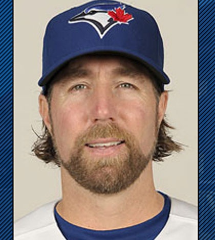 R.A. Dickey - Toronto Blue Jays Pitcher