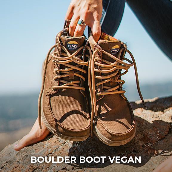 Women S Boulder Boot Vegan In 2020 Boots Minimalist Boots Barefoot Boots