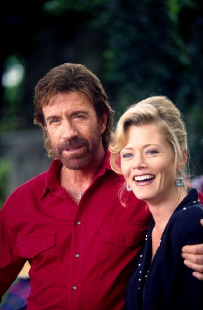 "Ranger Cordell Walker (Chuck Norris) & Alexandra ""Alex"" Cahill-Walker (Sheree J Wilson) from ""Walker: Texas Ranger<3"