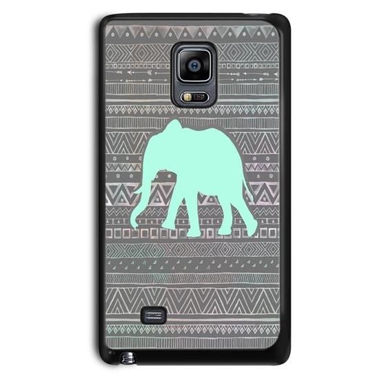 New Elephant Aztec Drawing,Samsung Note Case,Custom Samsung Note Case,Cheap Samsung Note Case,Case Printing