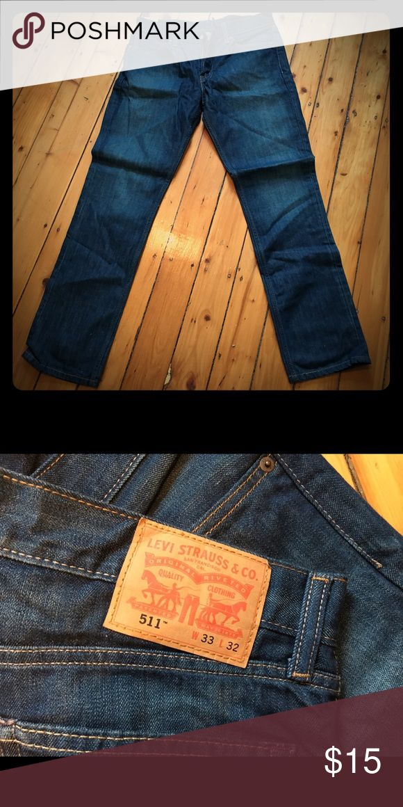 Men's Levi's NWOT men's Levi jeans. 33W x 32L Levi's Jeans Slim Straight