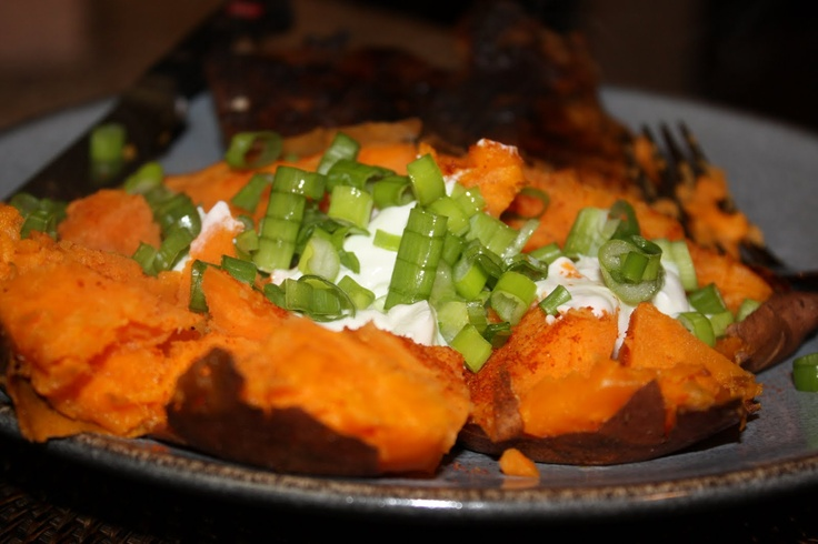 Grilled Sweet Potatoes With Scallions Recipes — Dishmaps