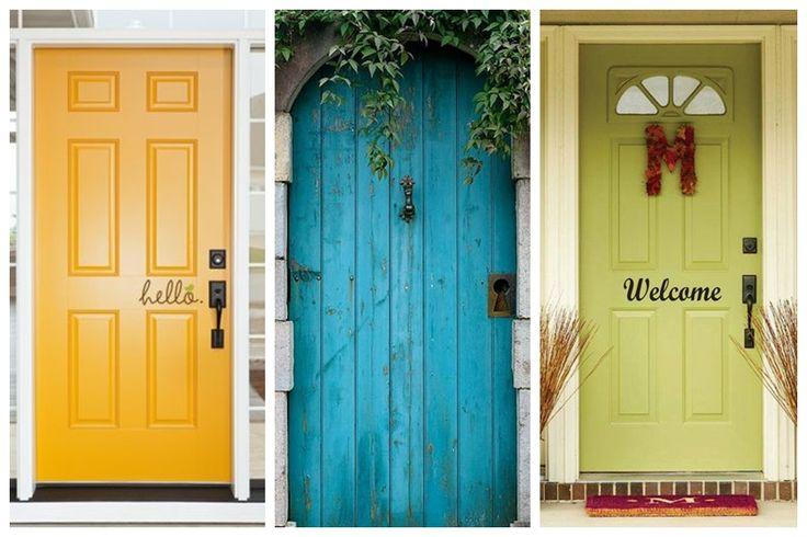 juststayclassy - blog lifestylowy: Drzwi wejściowe - wizytówka domu