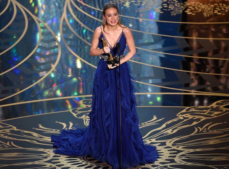 Brie Larson from Oscars 2016: Winners   E! Online