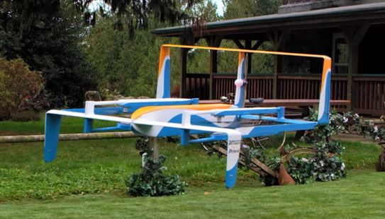 Jeremy Clarkson introduces the public to Amazon's flying drone project | The Drum