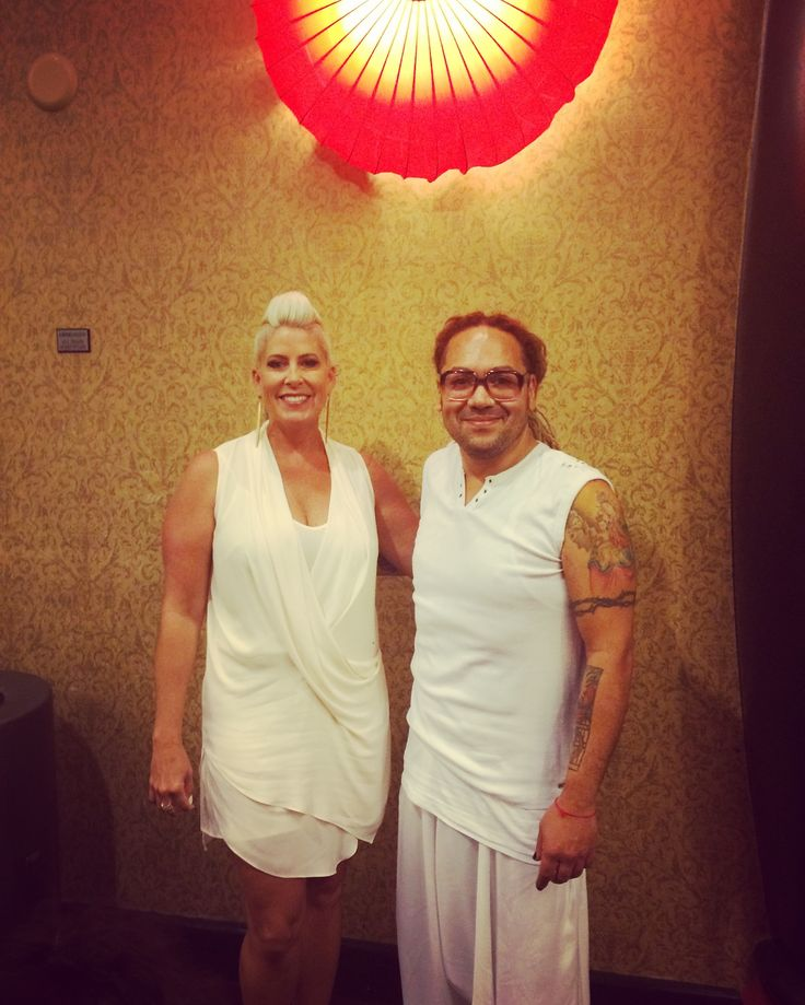 White Party. Undercover Boss. Gina Rivera. Men with style. Richie Roman