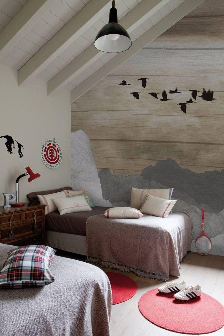 papel de pared para dormitorio infantil